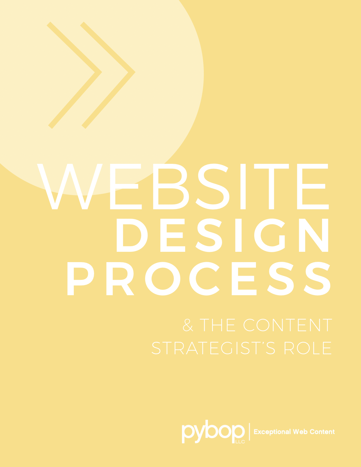 Where does content strategy fit in to a website design process?