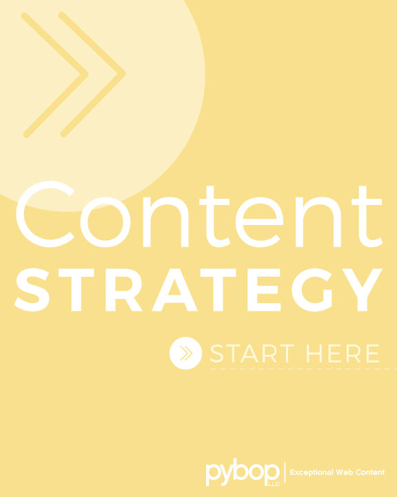 What's included in content strategy kickoff?