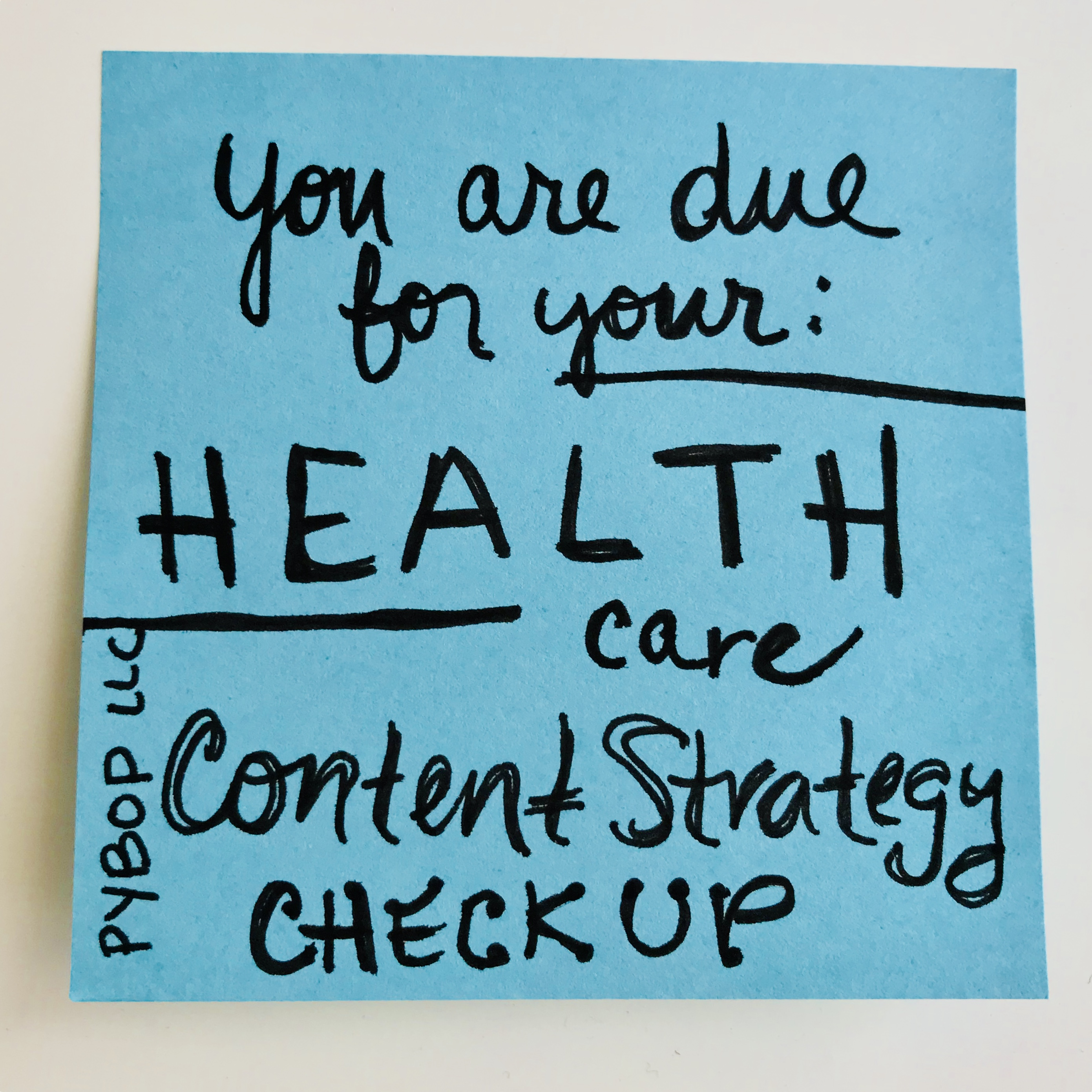 How is content strategy for health organizations different?