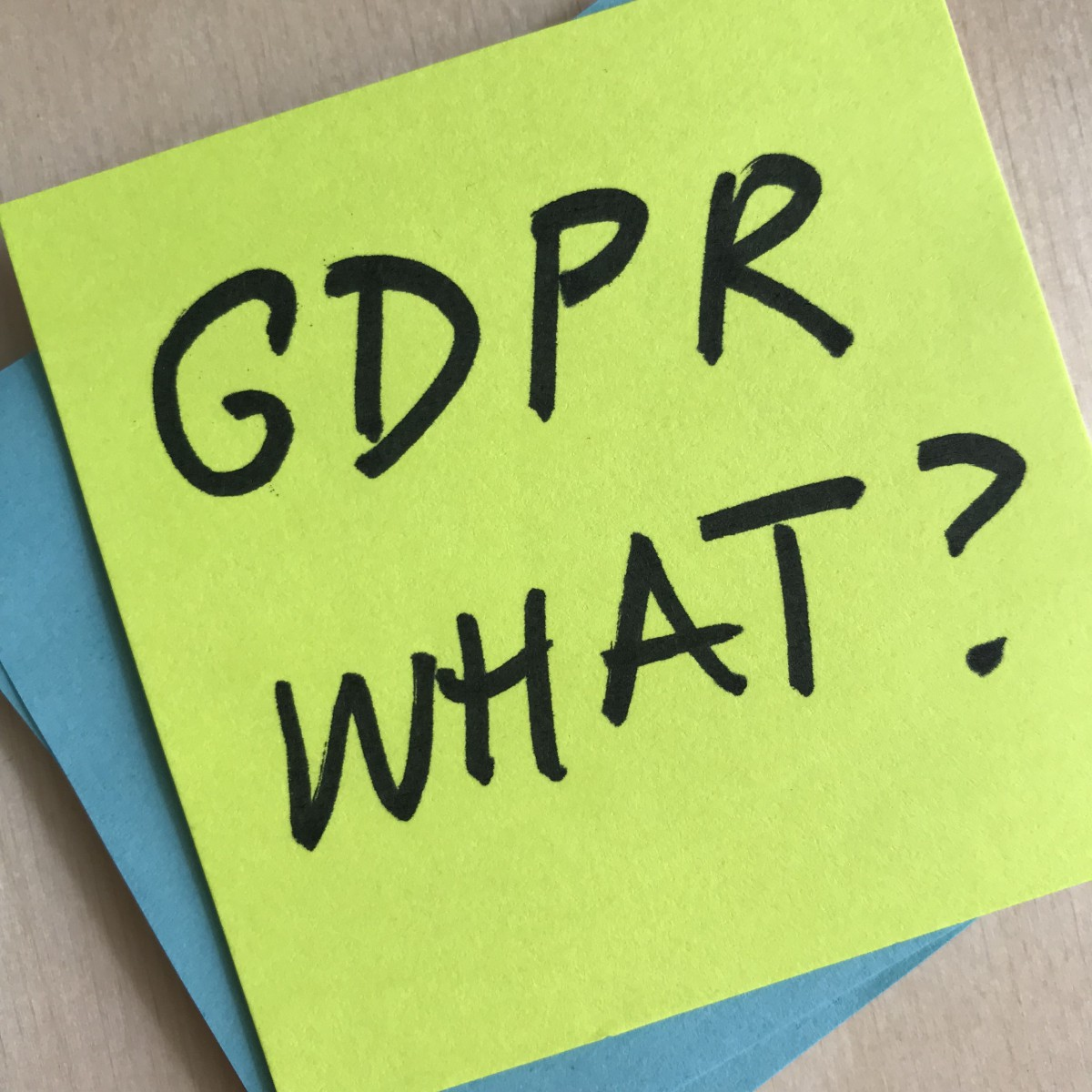 We missed the GDPR deadline. How do I update my content?