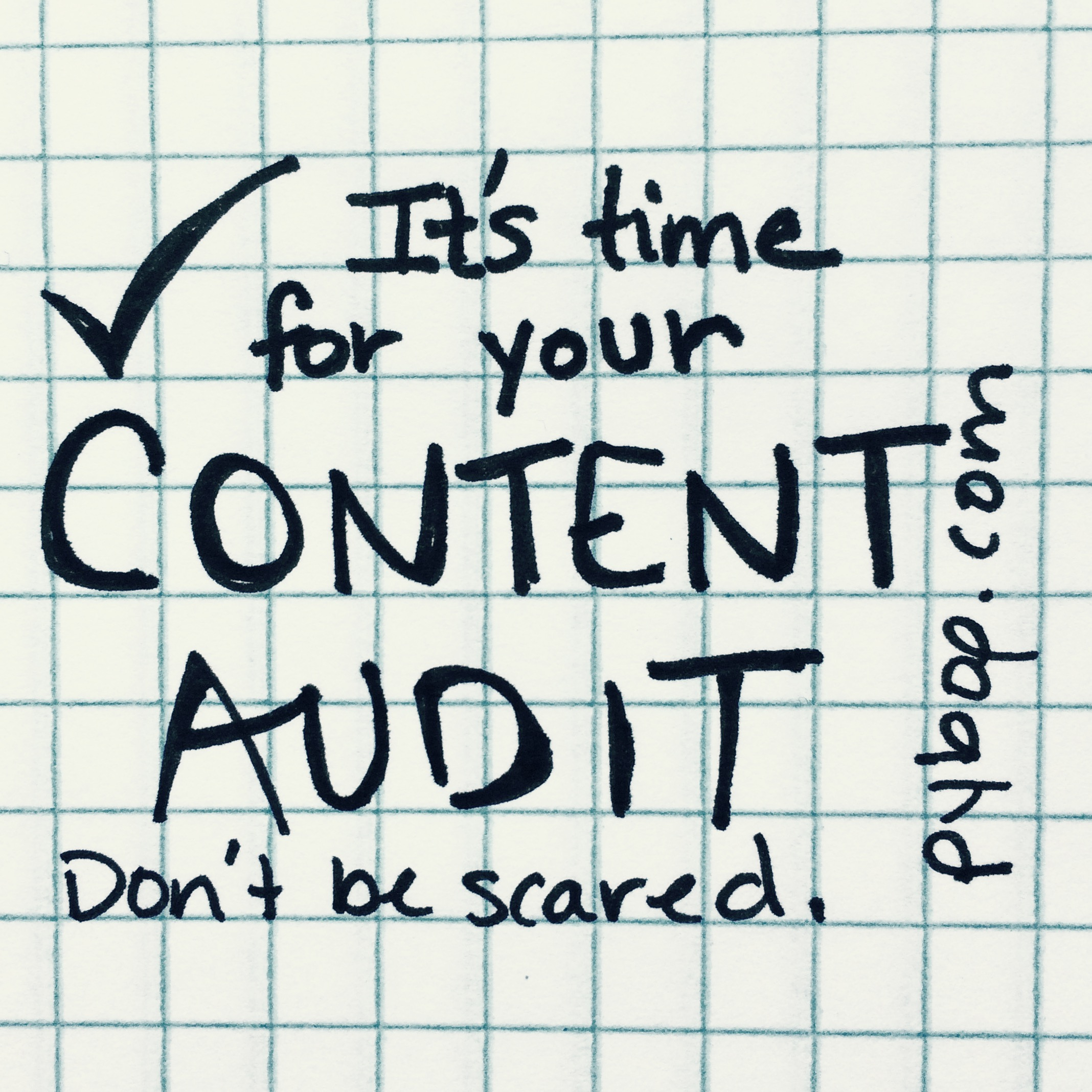 What are the benefits of a content audit?