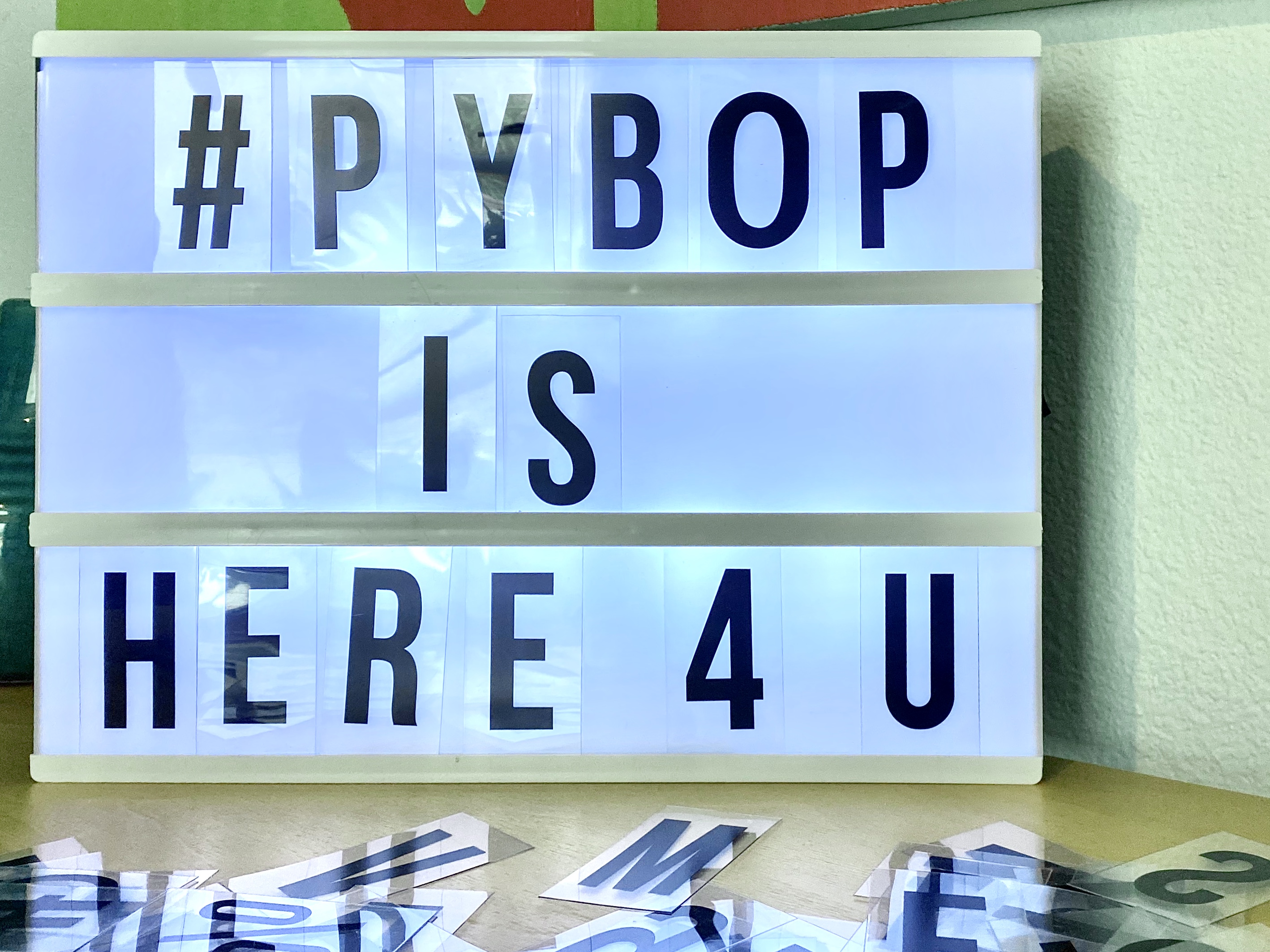 Pybop is here for you!