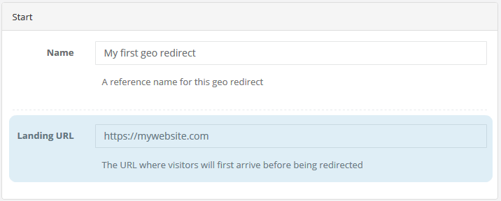 Shopify geo redirect