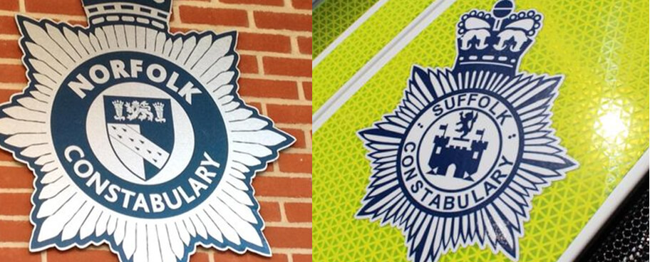 Norfolk and Suffolk Constabularies