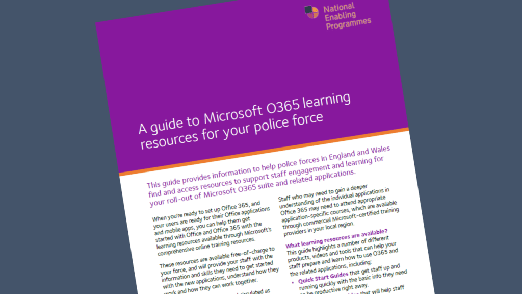 M365 learning resources guide published