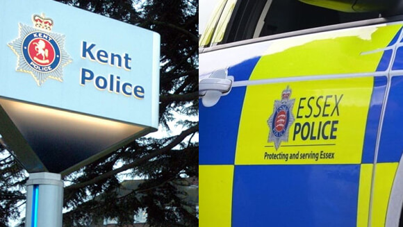 Essex Police and Kent Police