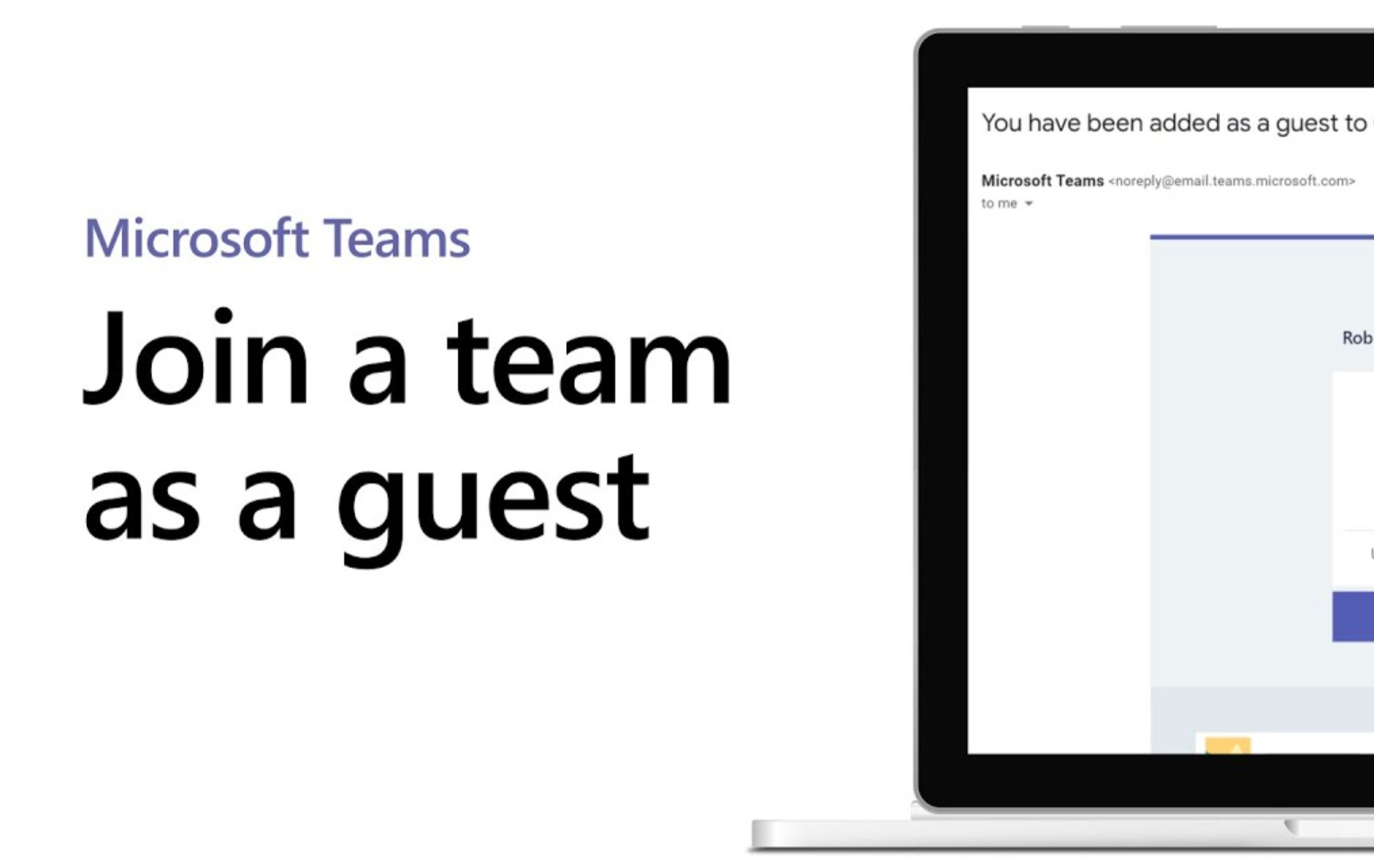 Join our as a Guest in Teams