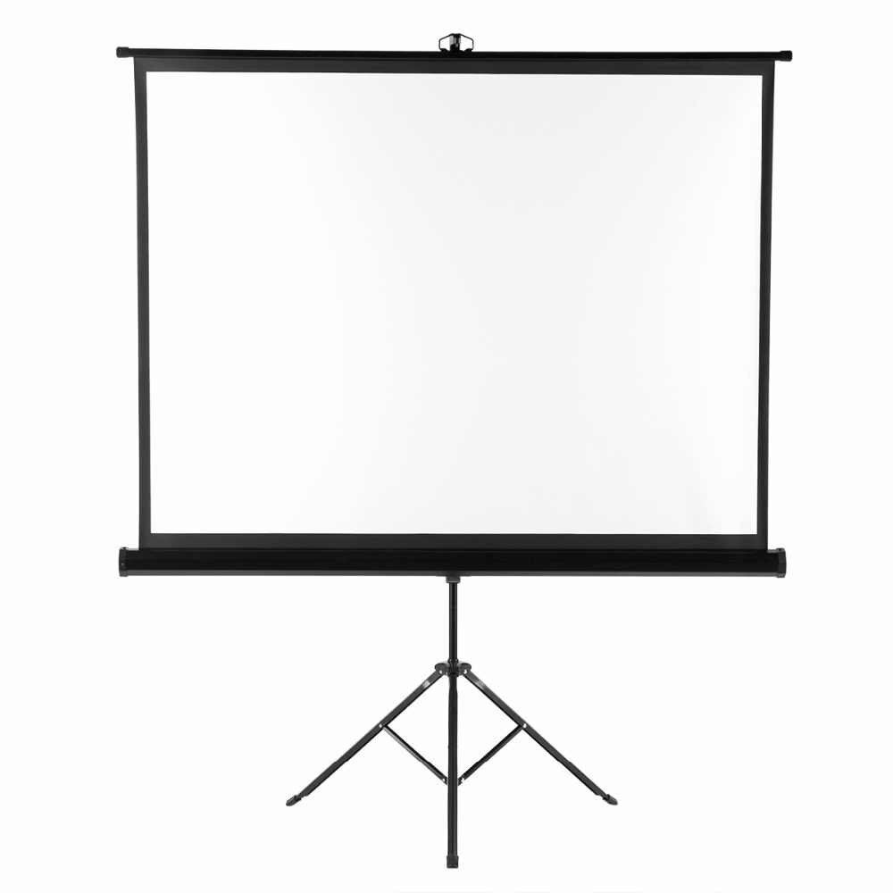 100 inch / 2.5 metre (diagonal) Projector Screen w/stand