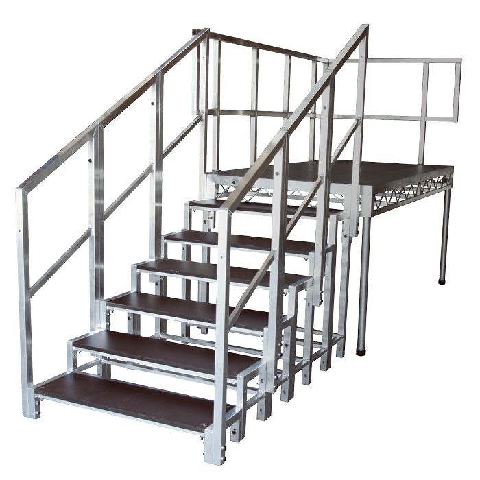 Global Truss Stage Stairs