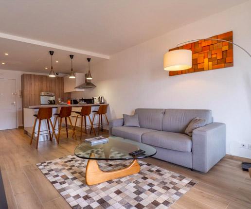 Intérieur appartement moderne