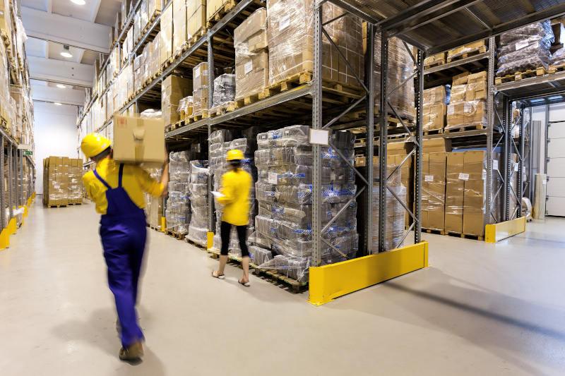 warehouse of goods
