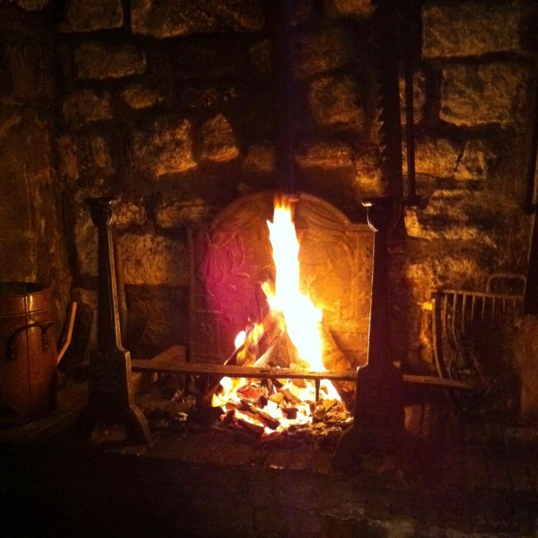 Restaurant avec cheminée - Paris - Feu de bois