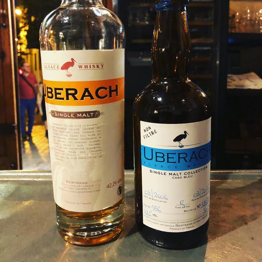 Handwerklich hergestellter französischer Whisky