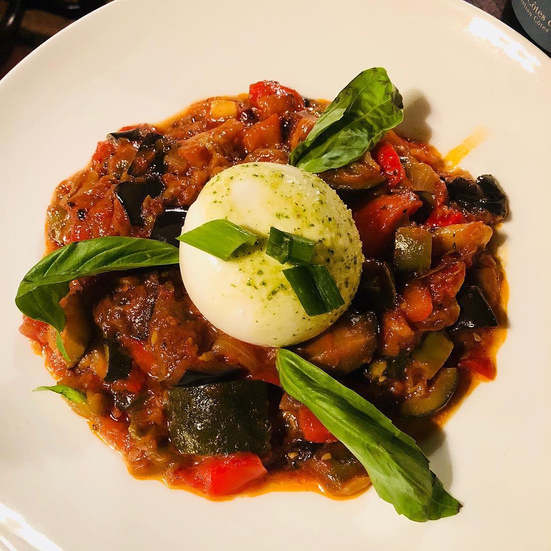Vegetarisches Gericht