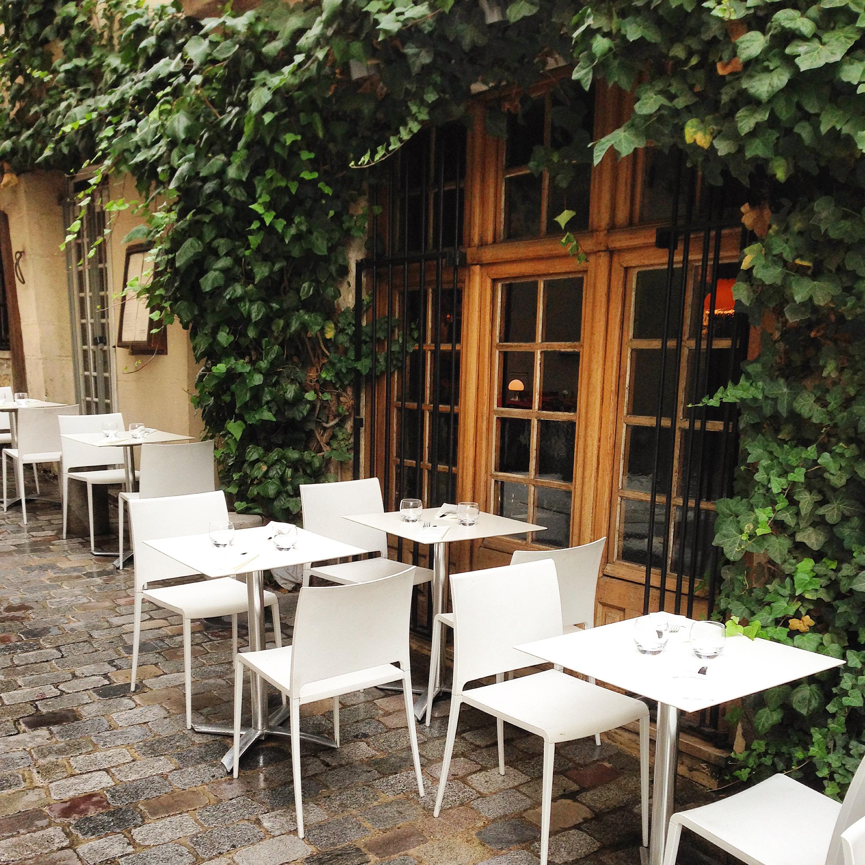 Restaurant terrasse paris 5