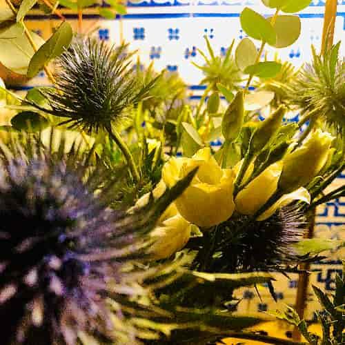 C'est notre petite passion, la réalisation de petits bouquets pour le plaisir de nos clients.