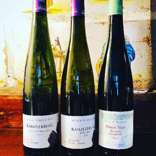 Les vins de Sylvie Spielmann sont sublimes.