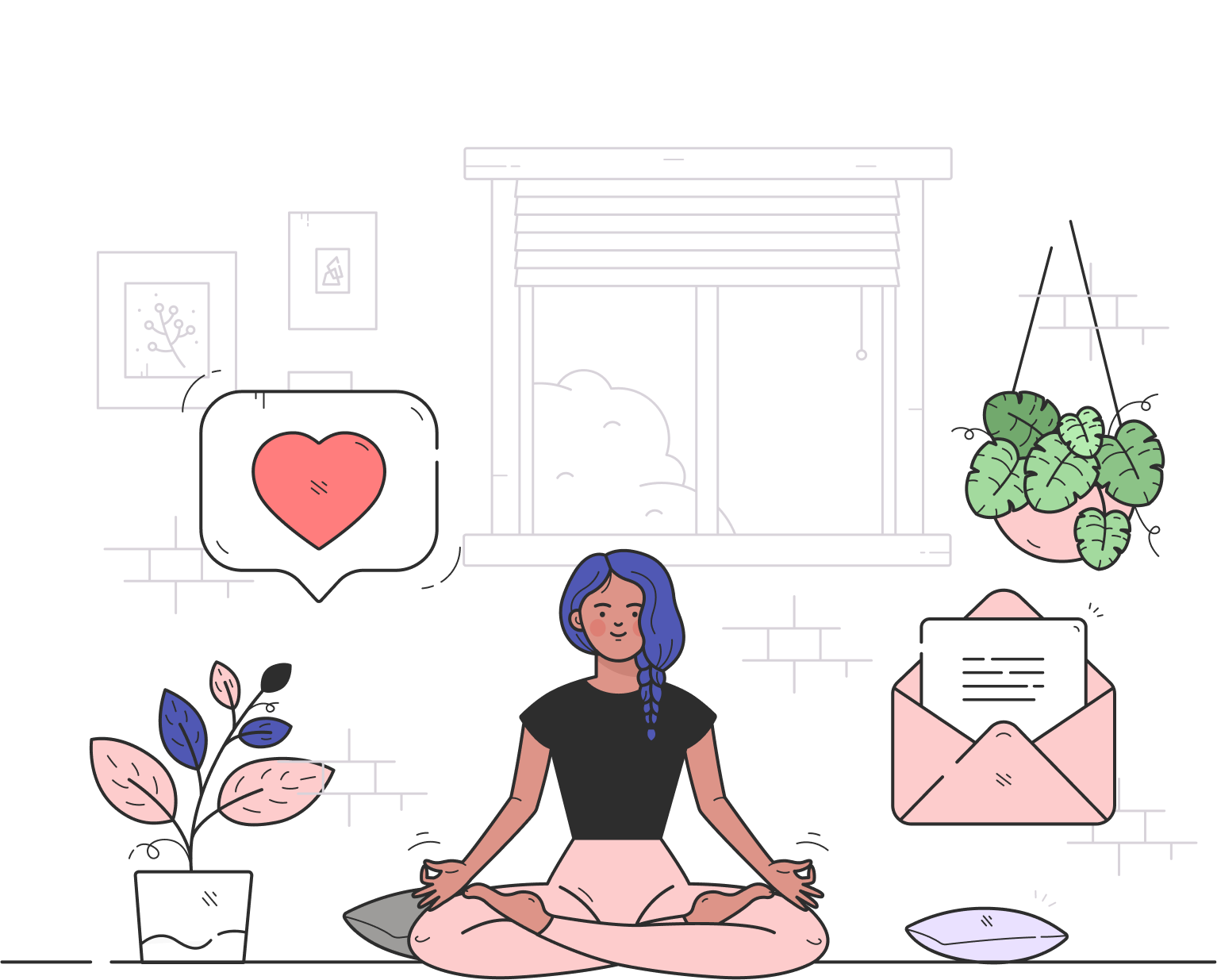 Illustration Inbox Zero Formation Dix Mille Heures