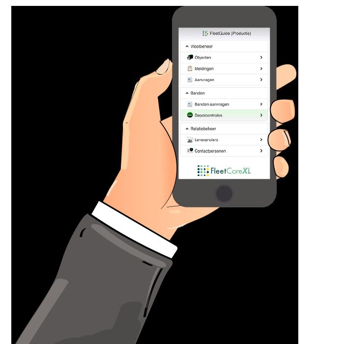 Wagenparkbeheer software FleetGuide app