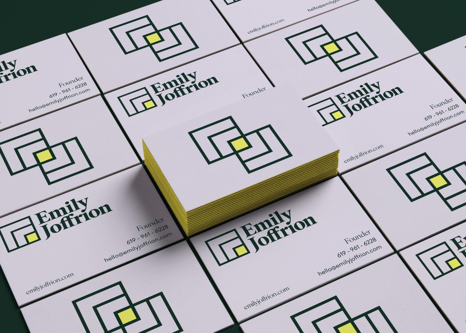 Emily Joffrion business  cards
