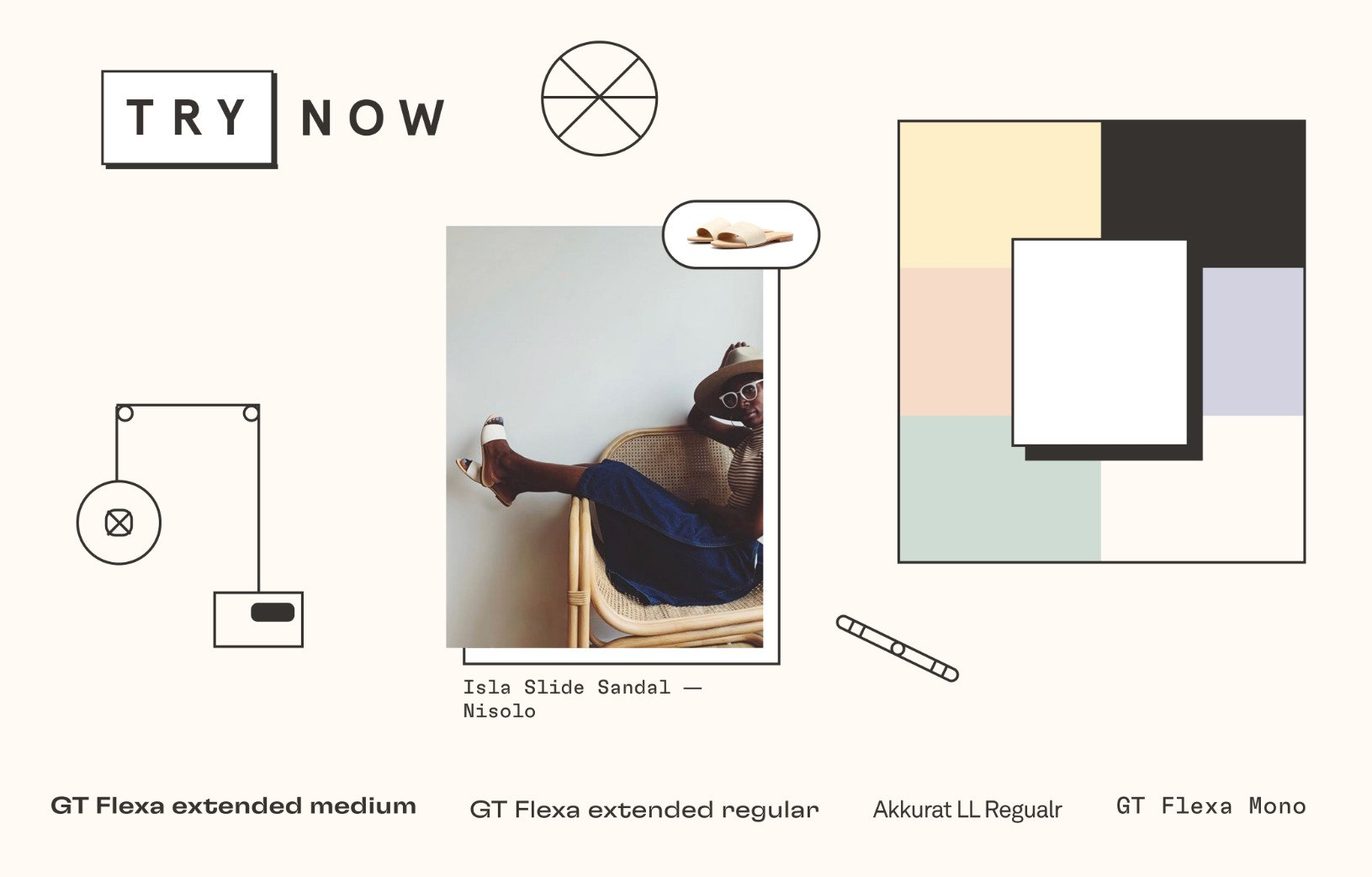 Try Now mood board