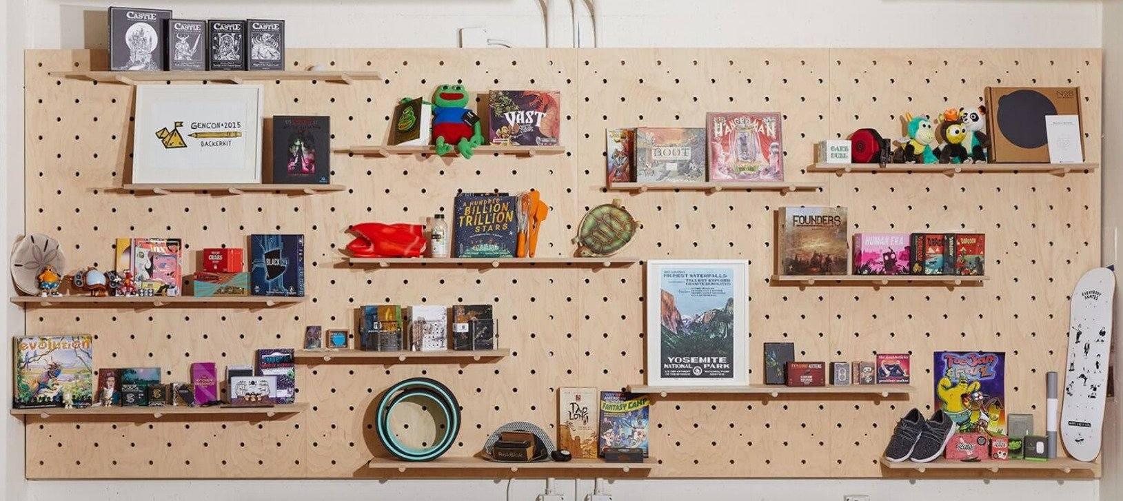 Backerkit items