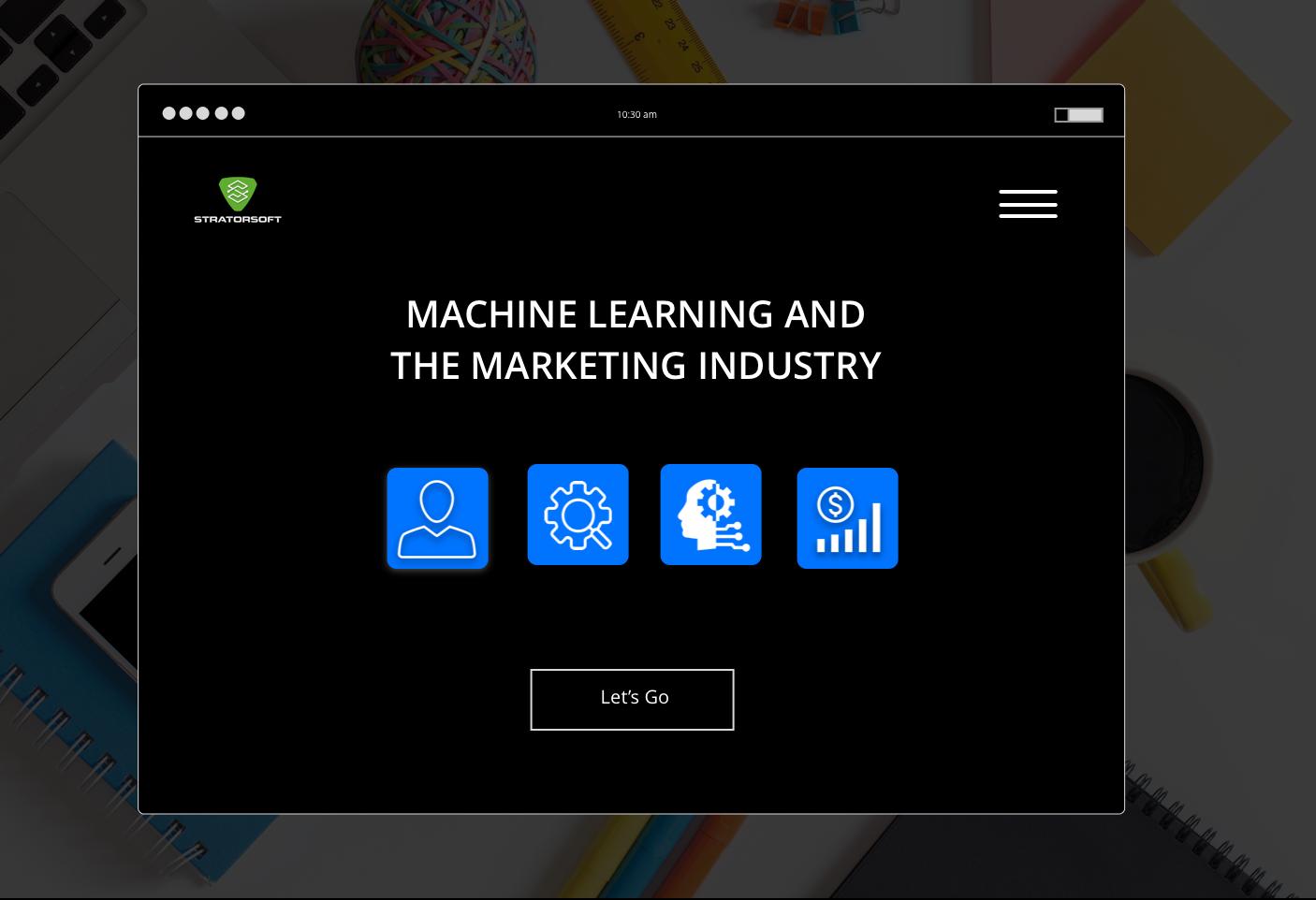 Machine Learning and Marketing image