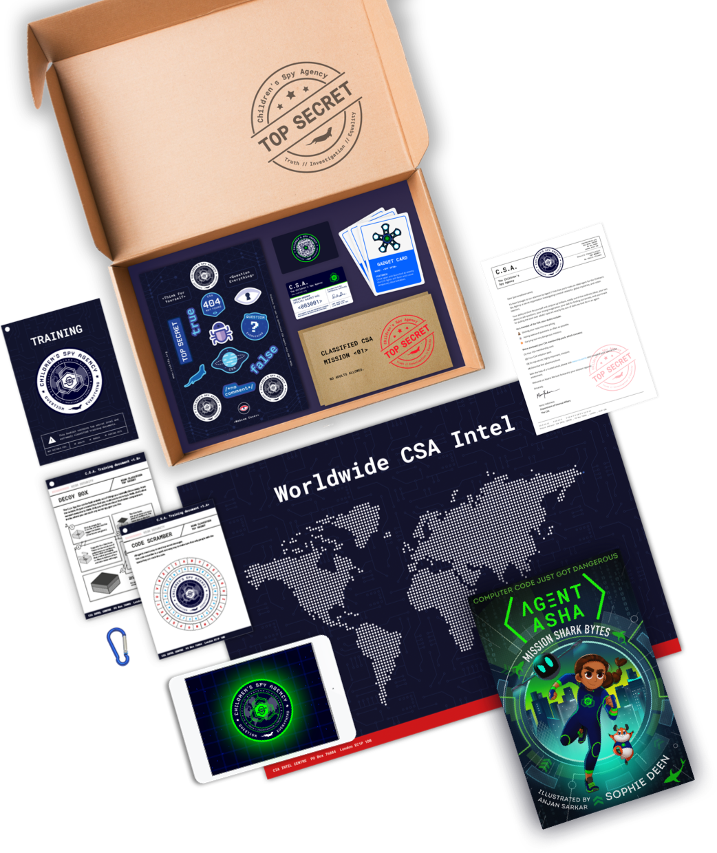 Spy Pack with Agent Asha book product image