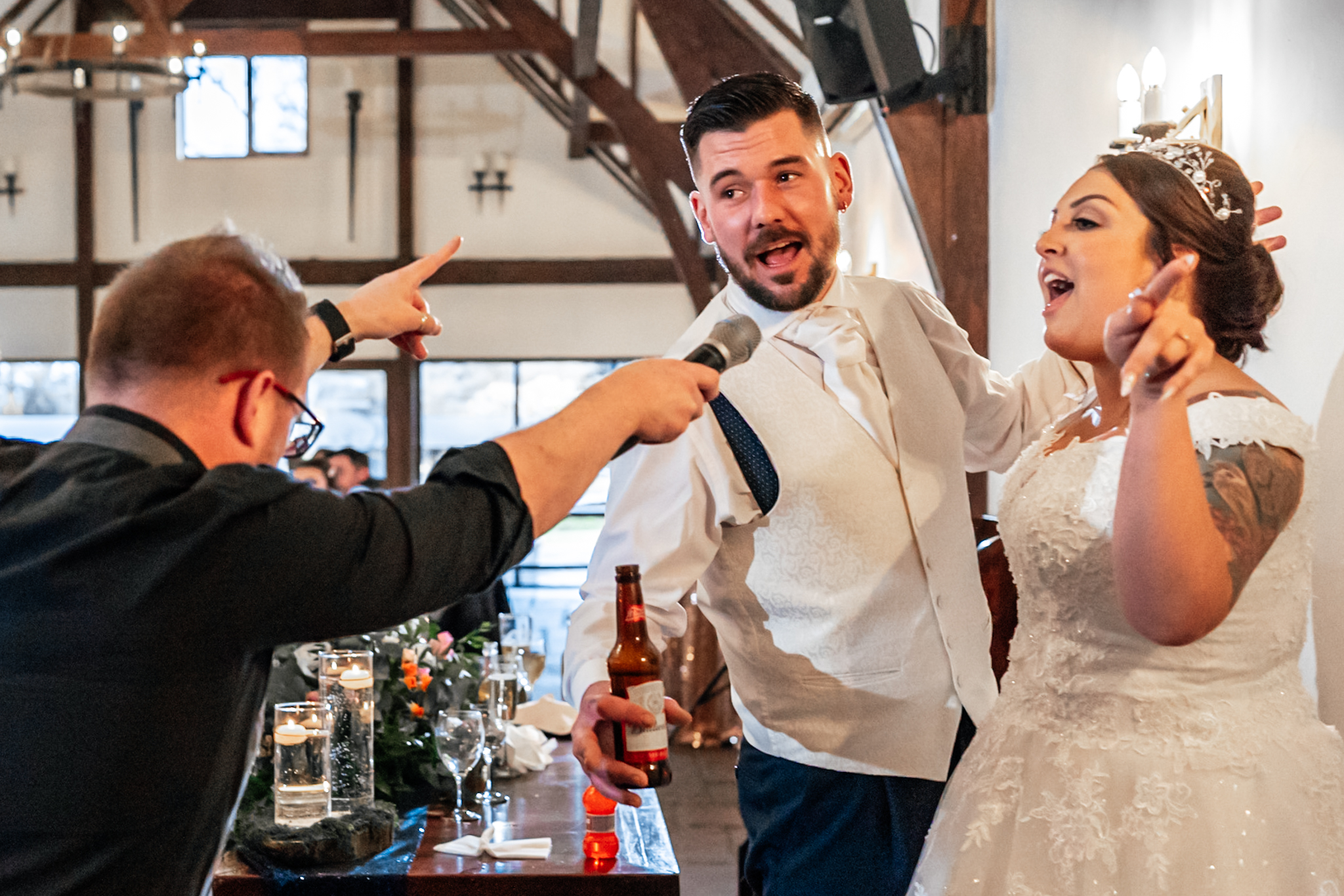 Award winning wedding photography Samlesbury Hall