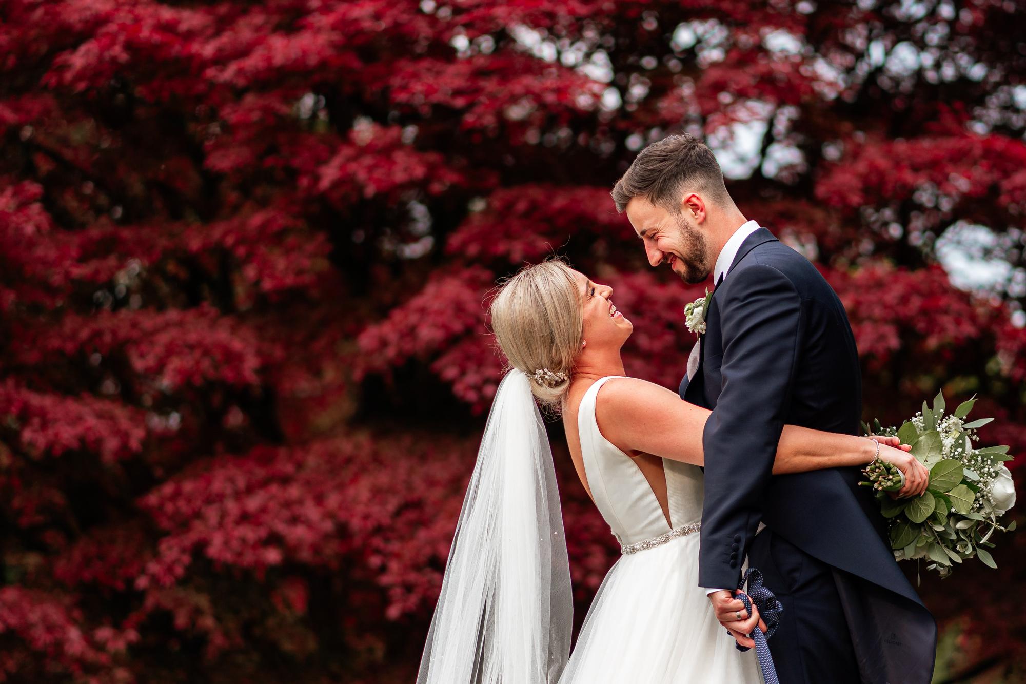 Wedding photographer Eaves Hall