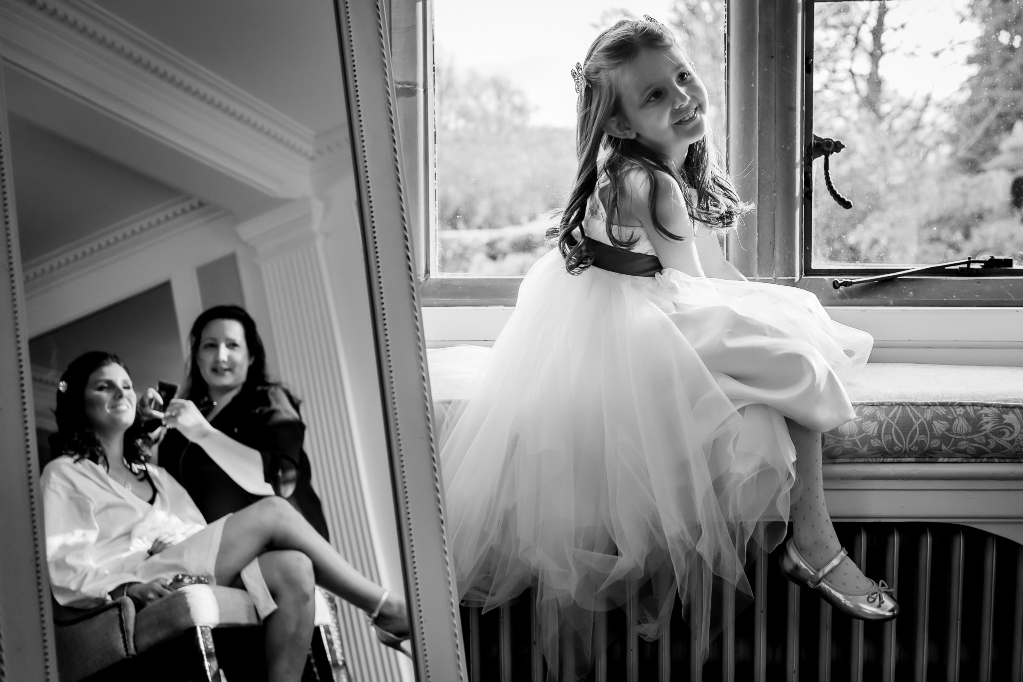 Documentary Wedding Photography Soughton Hall.