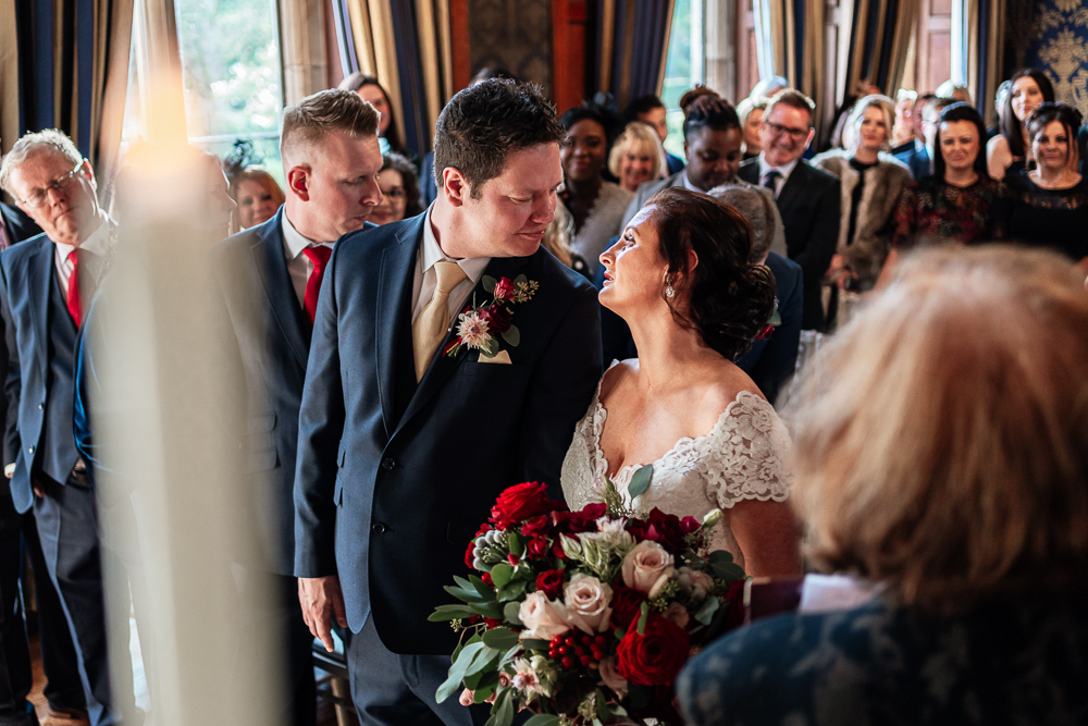 ceremony Soughton Hall.