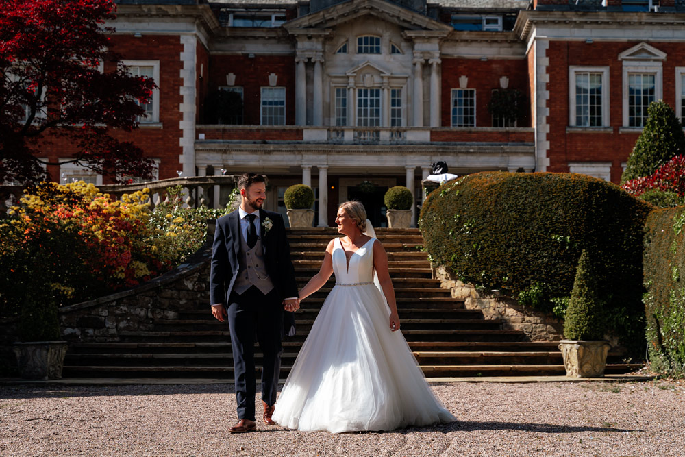 Natural wedding photography Eaves Hall