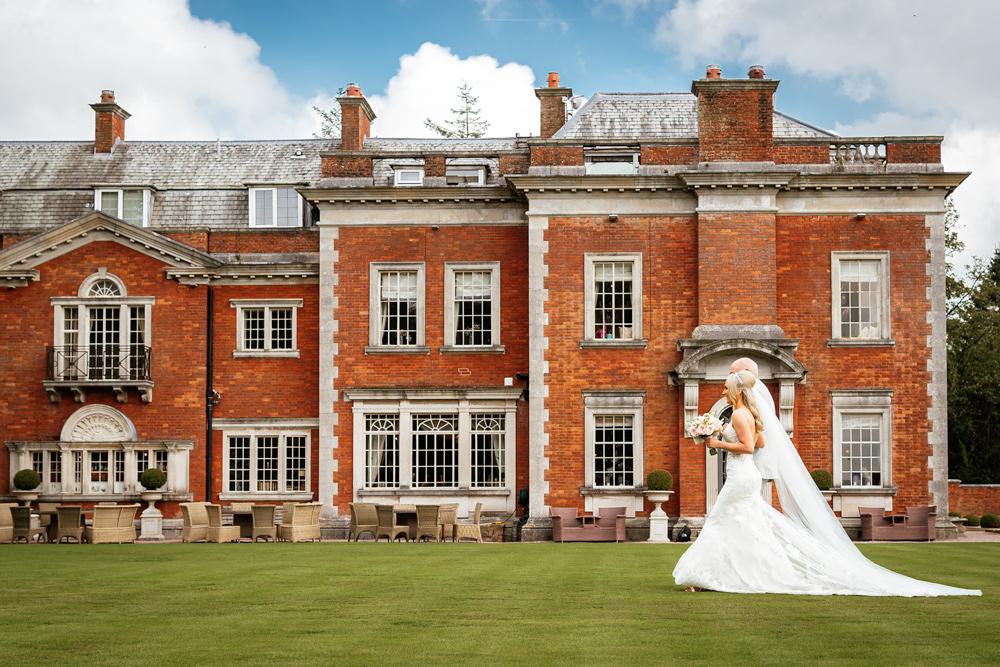 wedding photography Eaves Hall