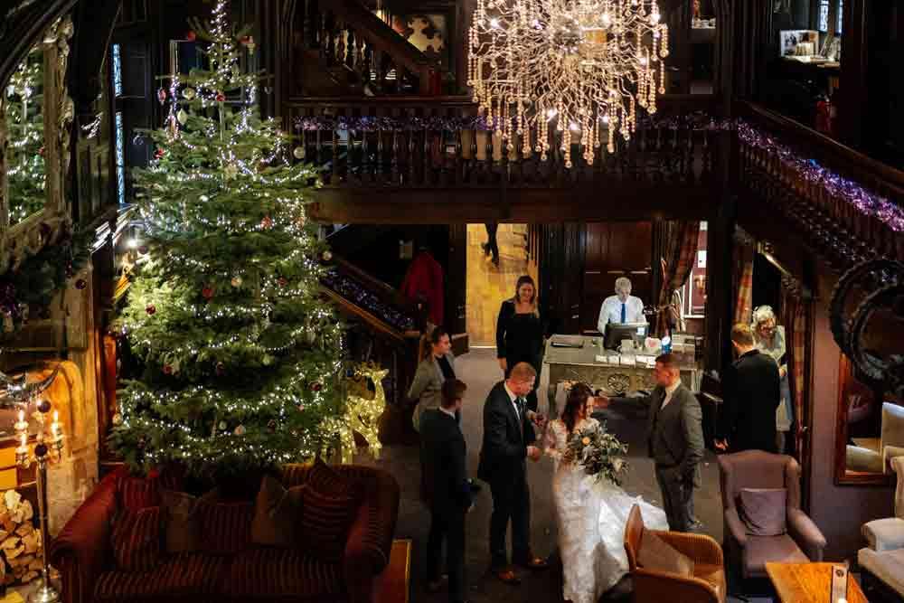 Christmas at Mitton hall