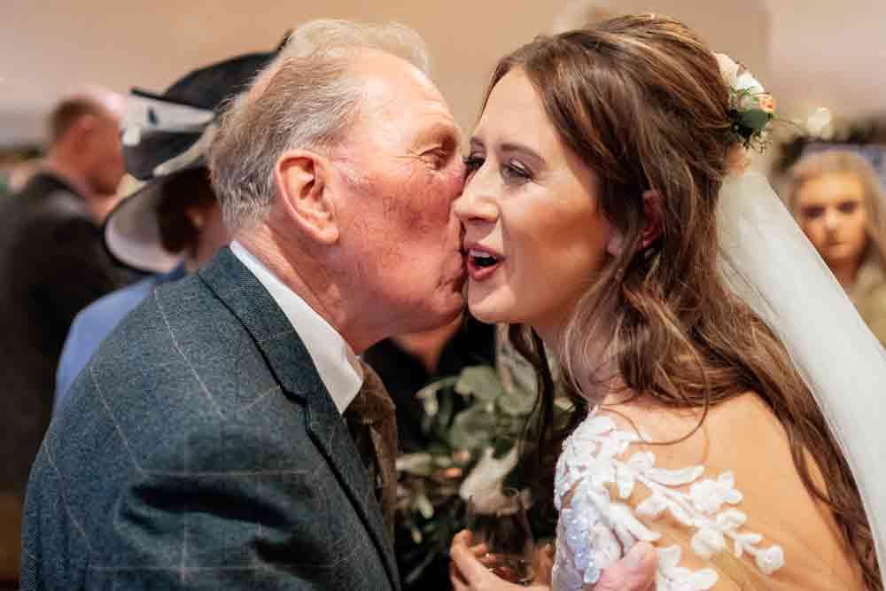 Grandfathers kiss