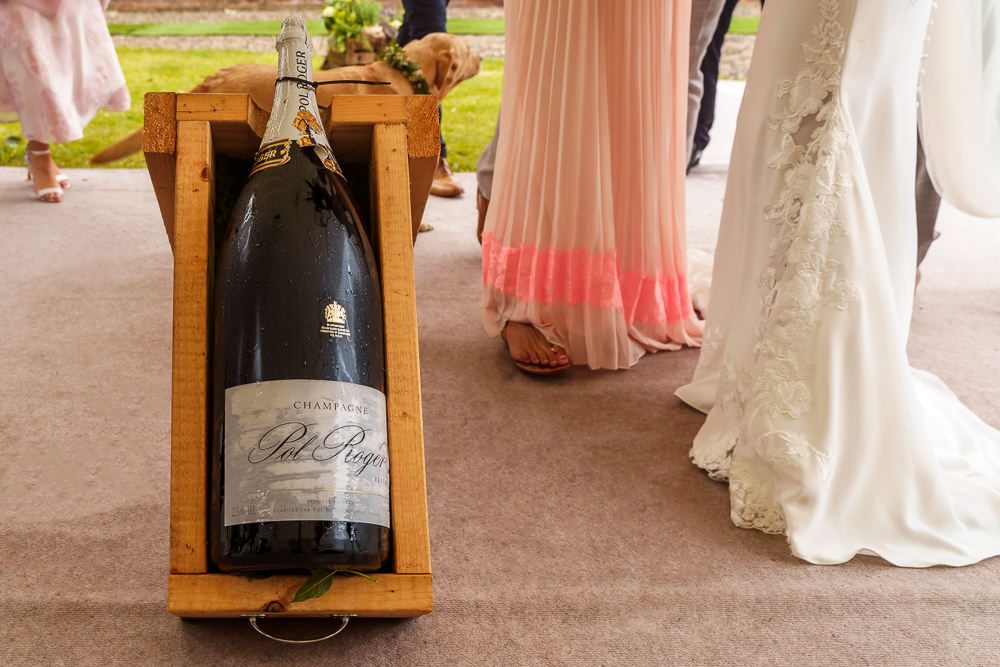 Champagne at weddings