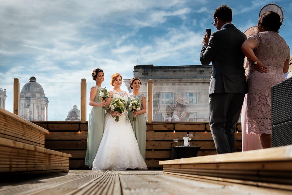 The bentley liverpool bride and groom portrait fun