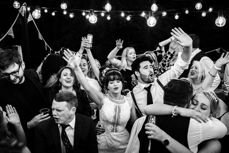 Cheshire wedding dance floor