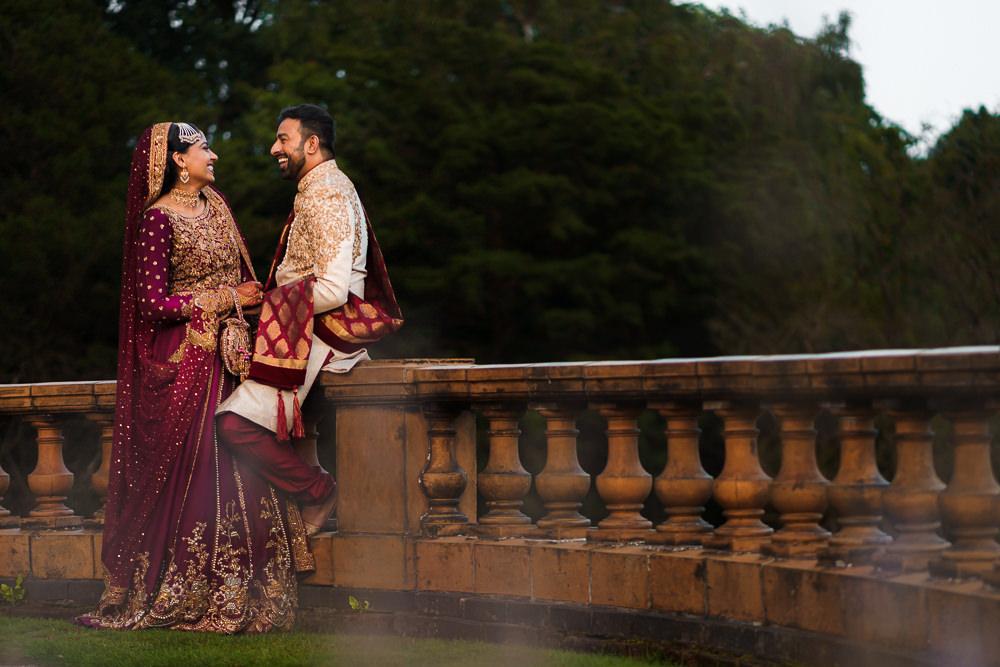 Asian wedding portrait