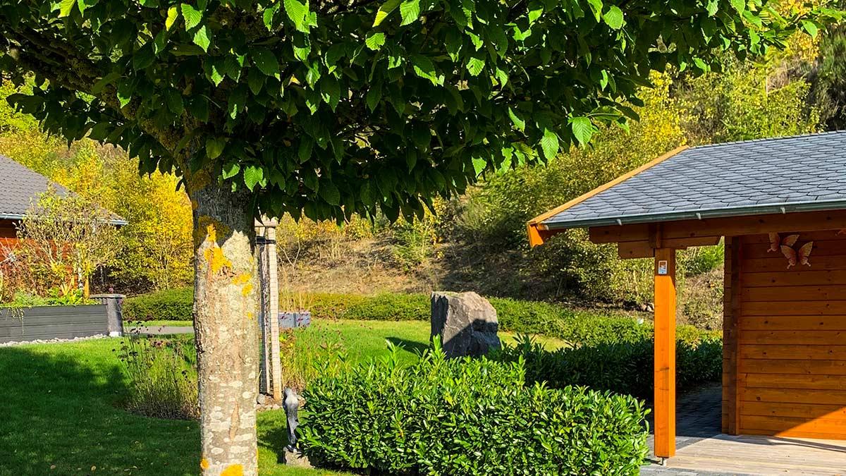 Ferienhaus Rieden Grundstück