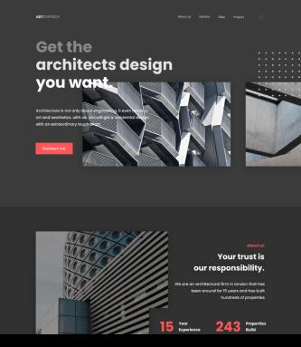 Web design concept by Permadi Satria Dewanto on Dribble.