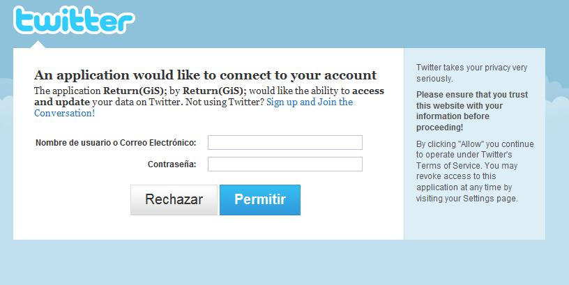 Authorize-Twitter