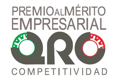 Logo premio al merito empresarial QRO