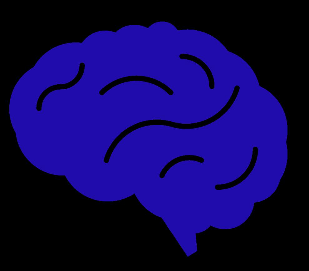 KIS logo of a brain