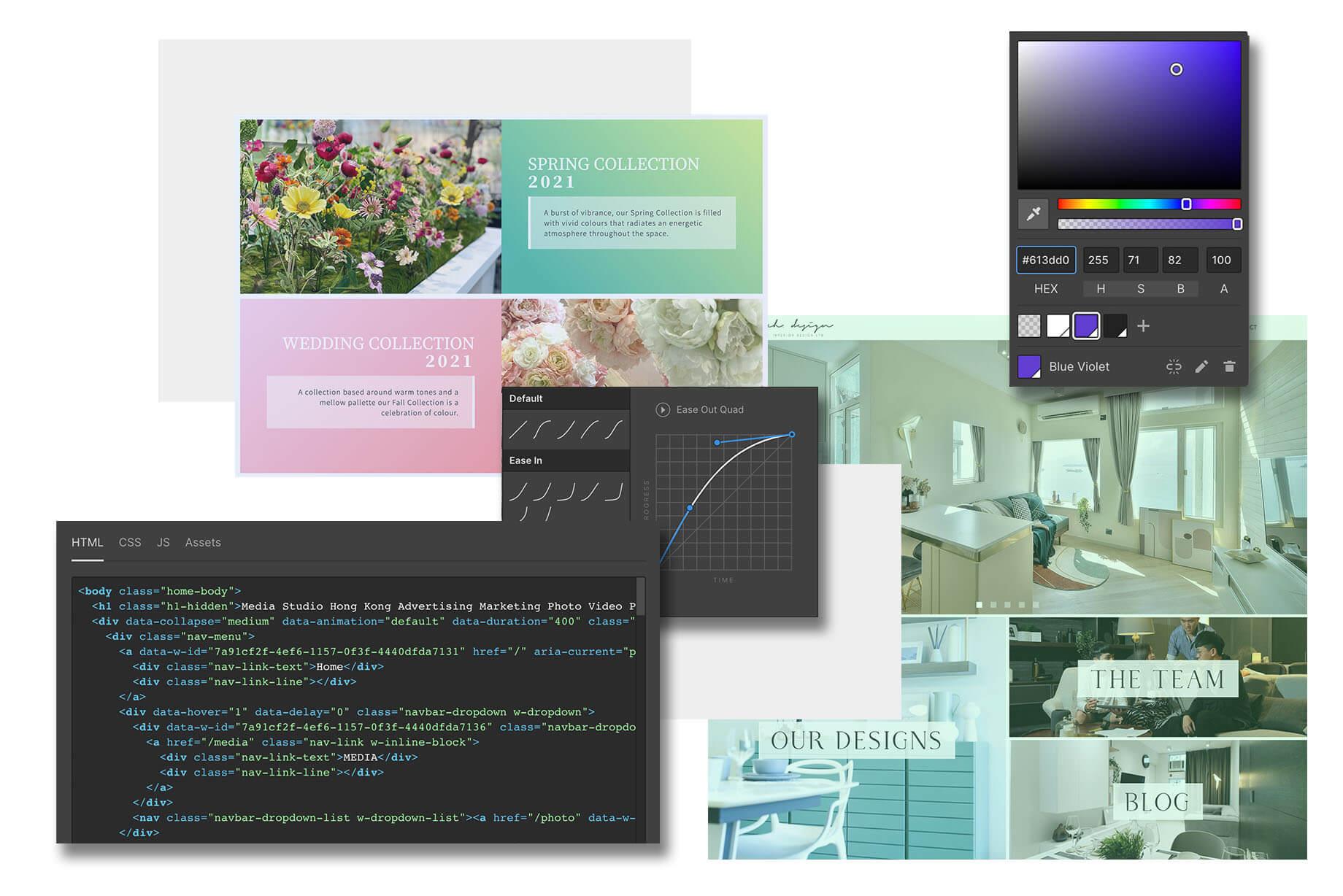media studio hong kong website ecommerce store design