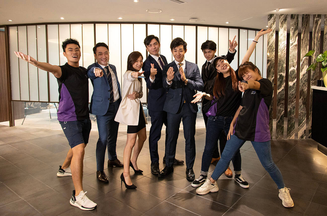 Success Anthony AIA Insurance Team with Media Studio Hong Kong Video Team