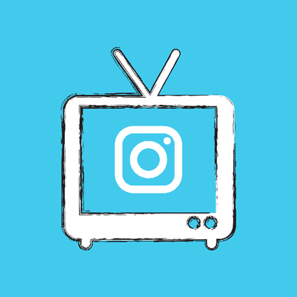 creative graphic of IGTV