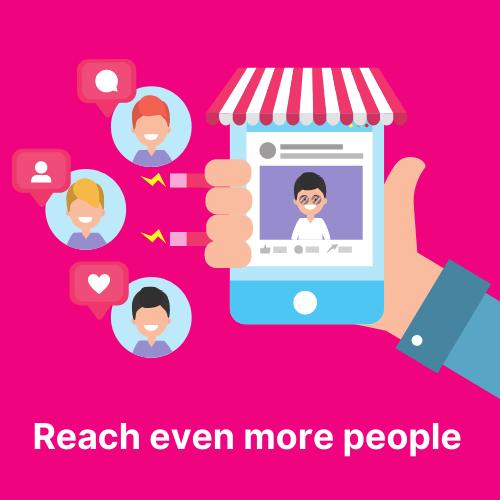 Reach more people using social media