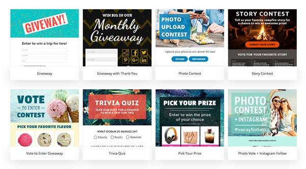 examples of giveaways